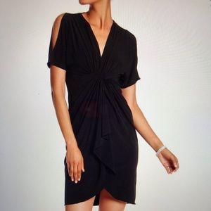 Catherine Malandrino cut out sleeve dress